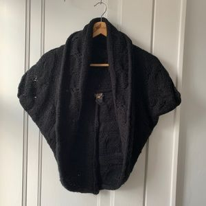 EUC Black Dex Bolero, Great Cover for Dresses!